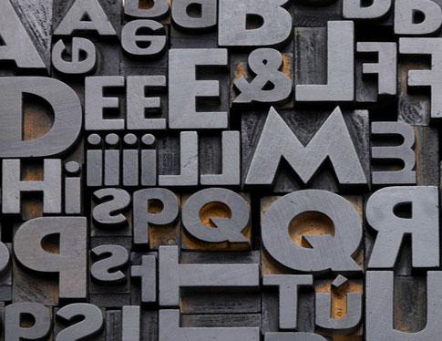 Typographie et police d'écriture
