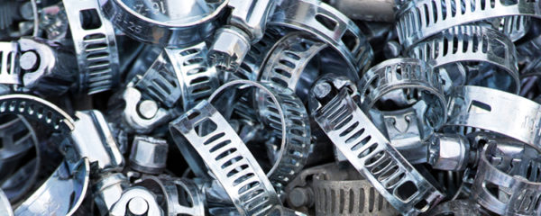 Colliers de serrage en inos