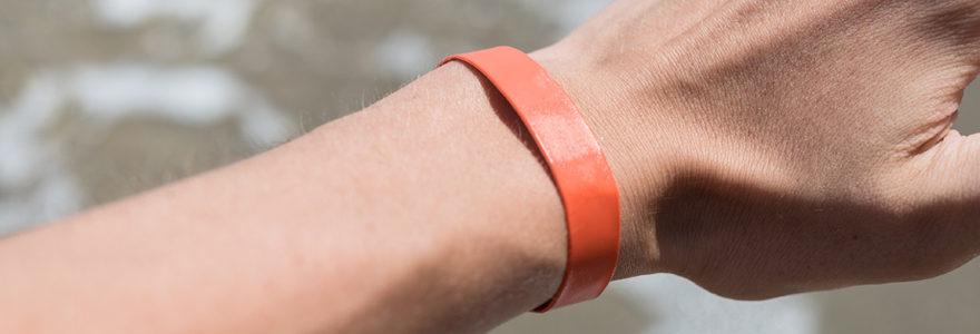 Personnaliser votre bracelet événementiel